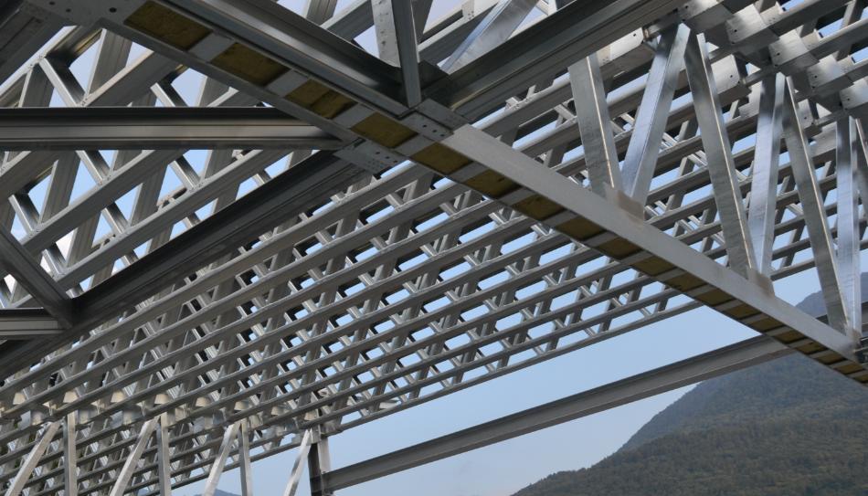 Soluzione strutturale per costruzioni a secco steel frame iso